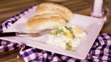 Vajíčkový šalát s cottage cheeseom
