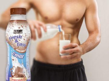 Mliečne nápoje chutia aj v lete!