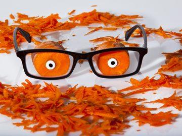 Okuliarnici, prečo vám mrkva ešte stále nezlepšila zrak?
