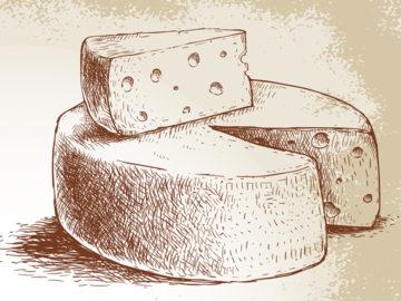 Syrová chvíľka histórie 1. časť: Syr včera ako dar bohov, syr dnes ako umenie!